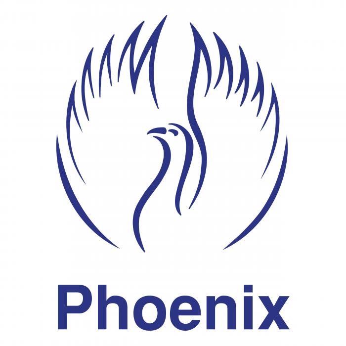 Phoenix logo blue