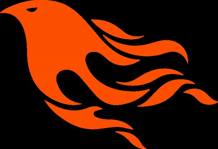 Phoenix logo orange