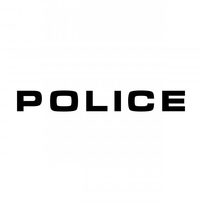 Police logo black
