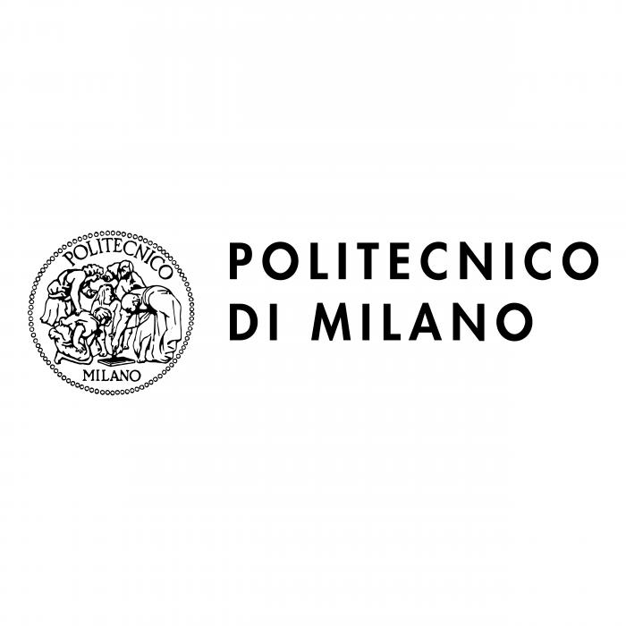 Politecnico di Milano logo black