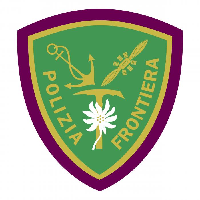 Polizia di Frontiera logo green
