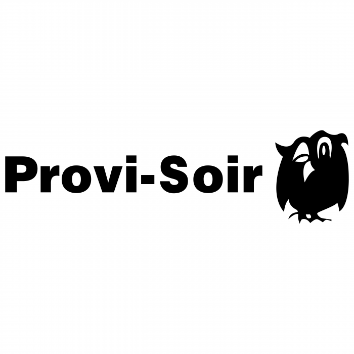 Provi Soir logo black