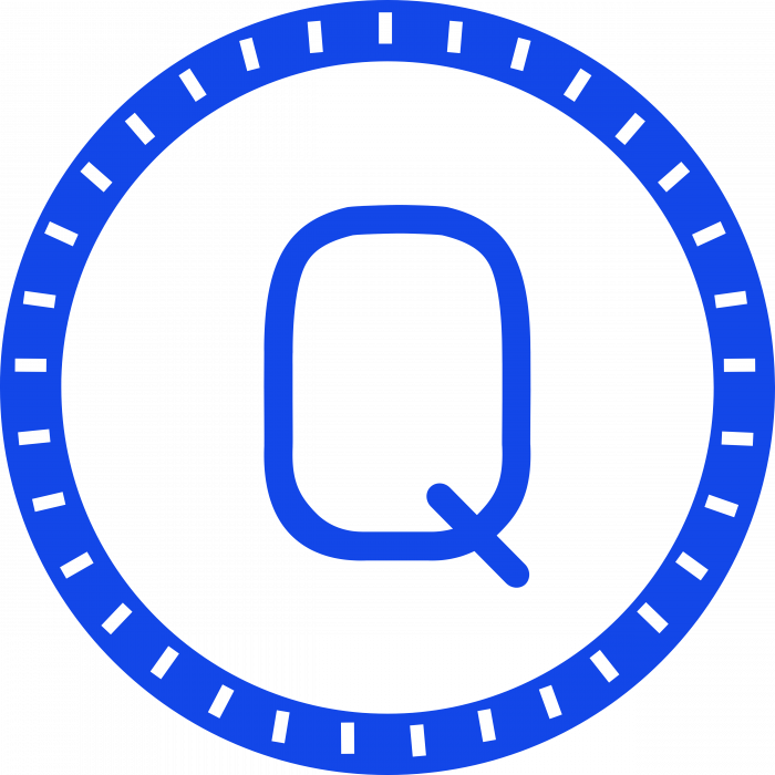 Qash logo coin