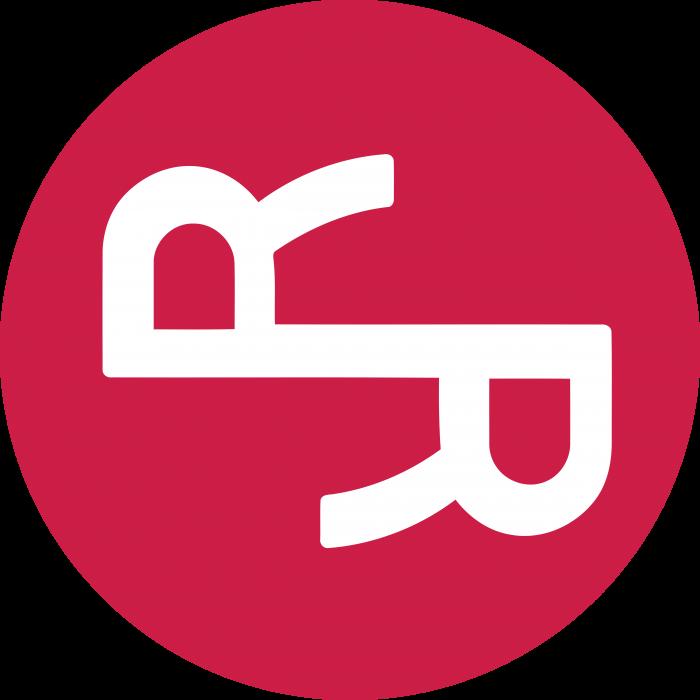 RChain logo red