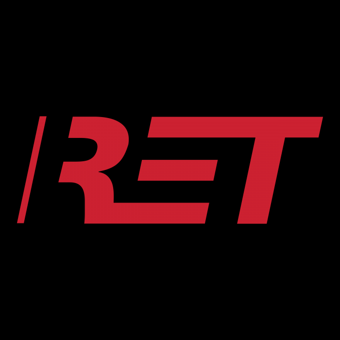 RET logo cube