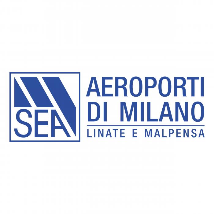 SEA Aeroporti di Milano logo blue