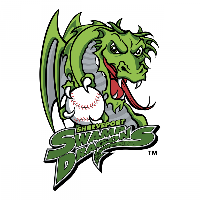 Shreveport Swamp Dragons logo colour