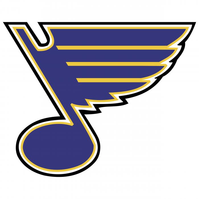 St. Louis Blues logo blue
