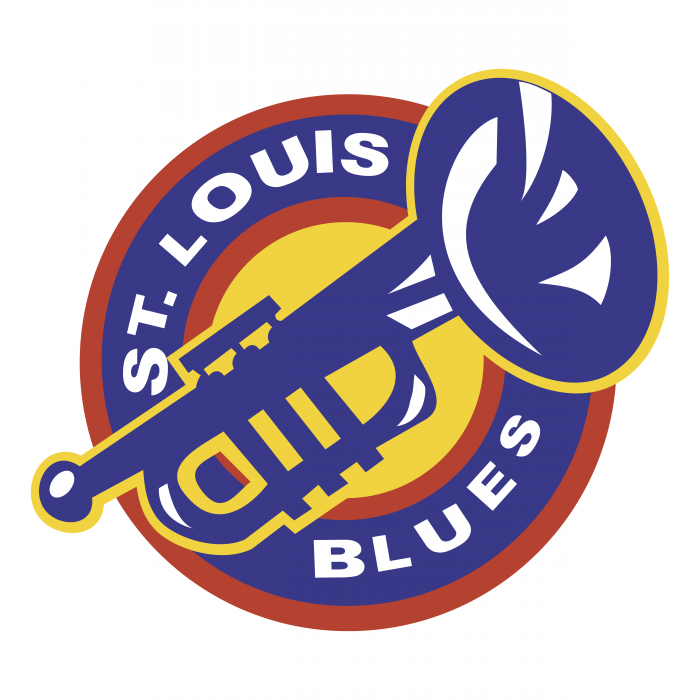 St. Louis Blues logo colour