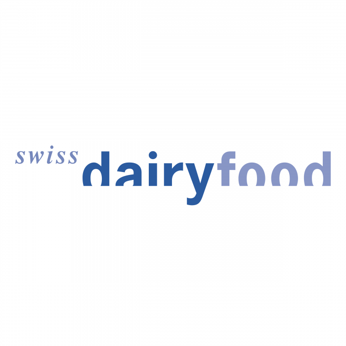 Swiss Dairy Food logo blue
