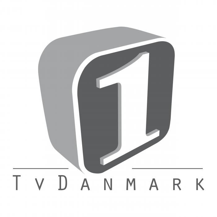 TV Danmark logo grey