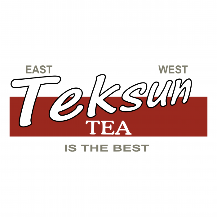 Teksun Tea logo red