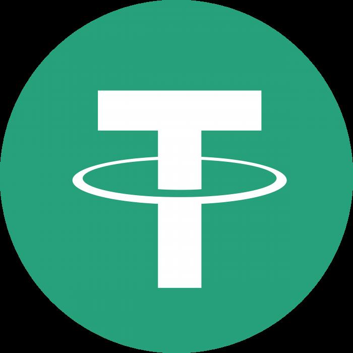 Tether logo coin