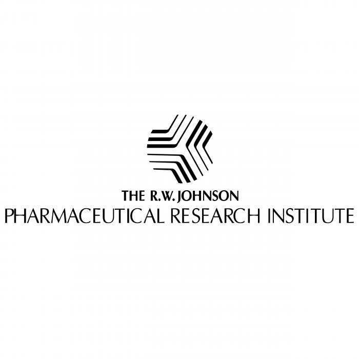 The R.W.Johnson Pharmaceutical Research Institute logo black