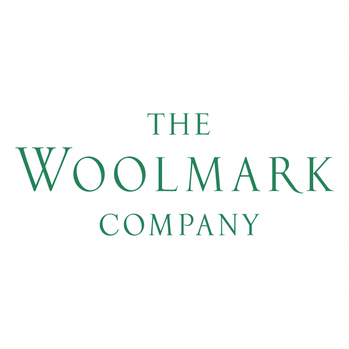 The Woolmark Company logo green