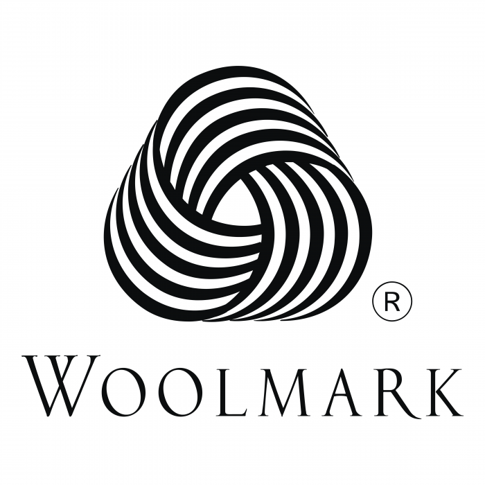 The Woolmark logo black