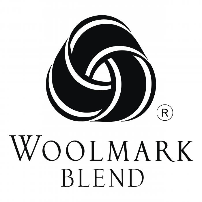 The Woolmark logo blend