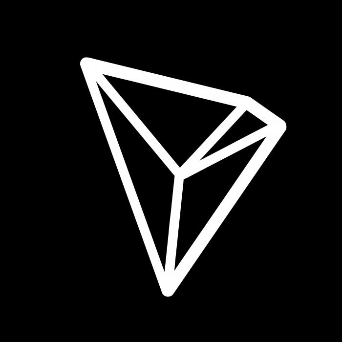 Tron logo coin