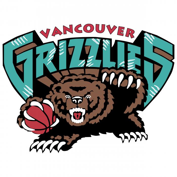 Vancouver Grizzlies logo colour