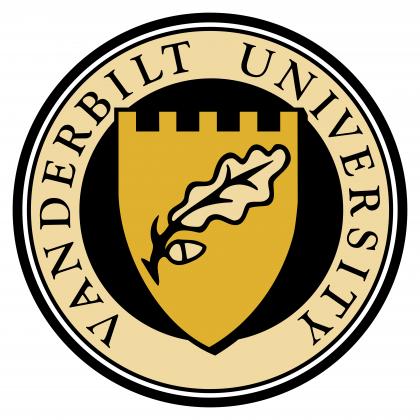 Vanderbilt University logo colour