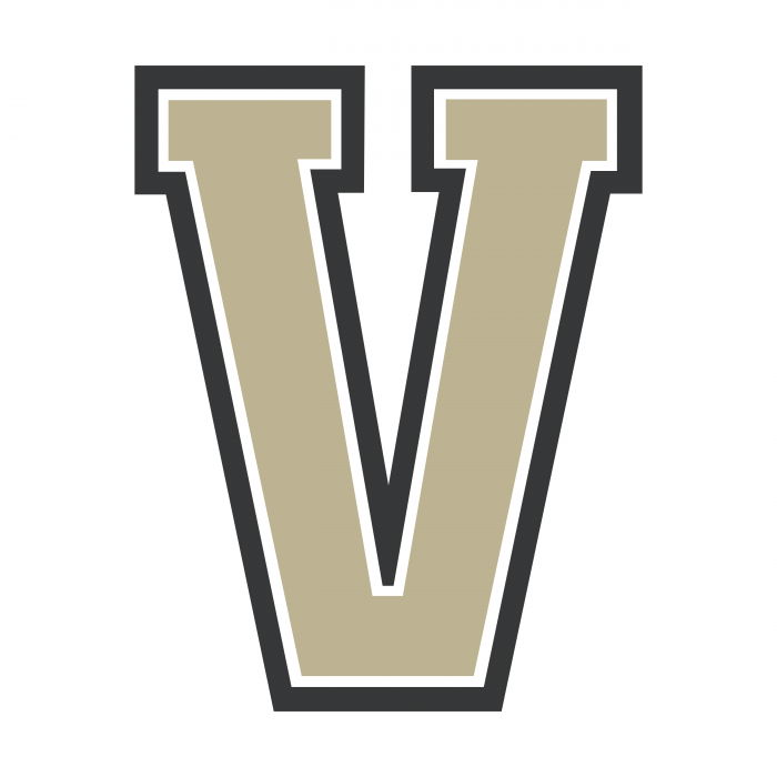 Vvanderbilt Commodores logo grey