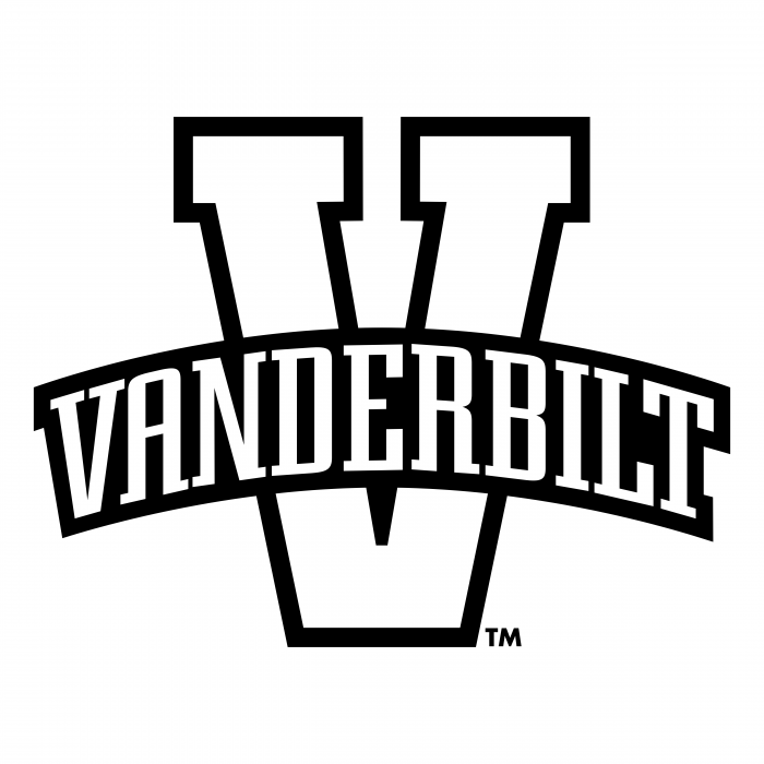 Vvanderbilt Commodores logo white
