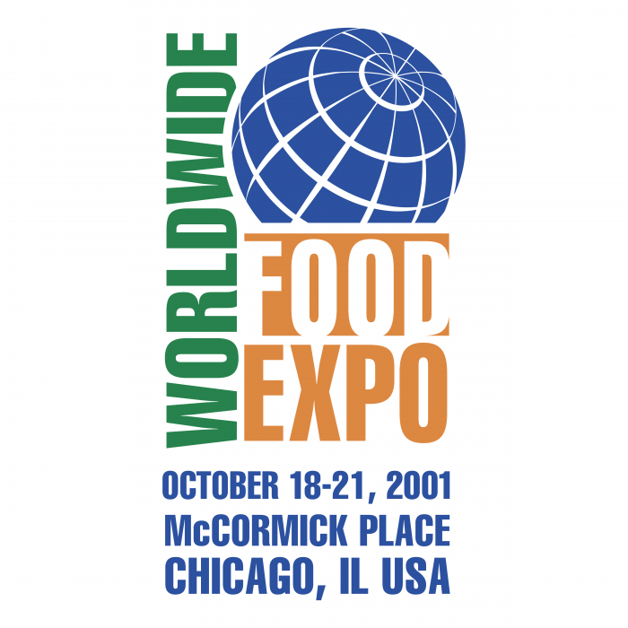 Worldwide Food Expo logo colour
