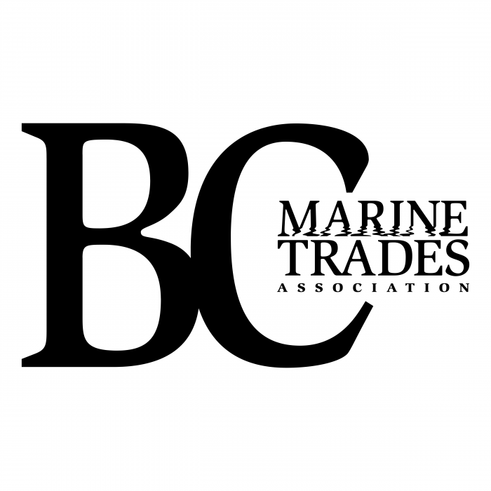 BC Marine Trades Association logo black