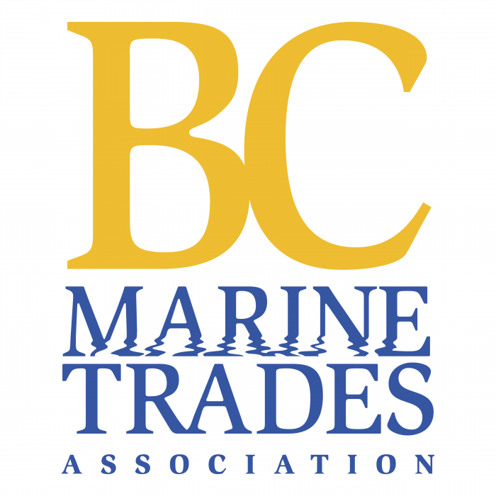 BC Marine Trades Association logo pink