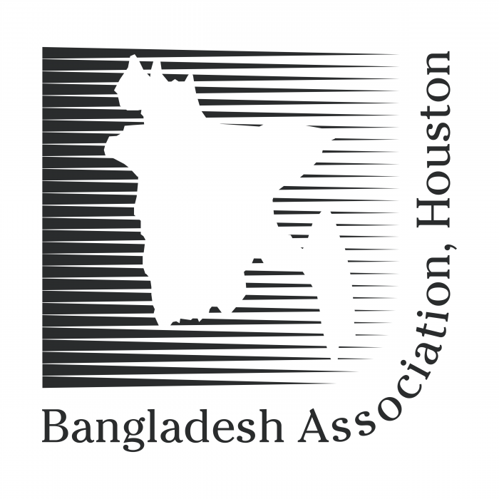 Bangladesh Association logo black