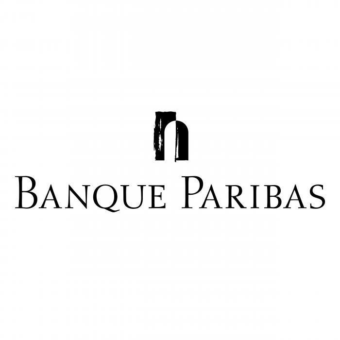 Banque Paribas logo black