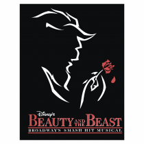 Beauty and the Beast logo cube
