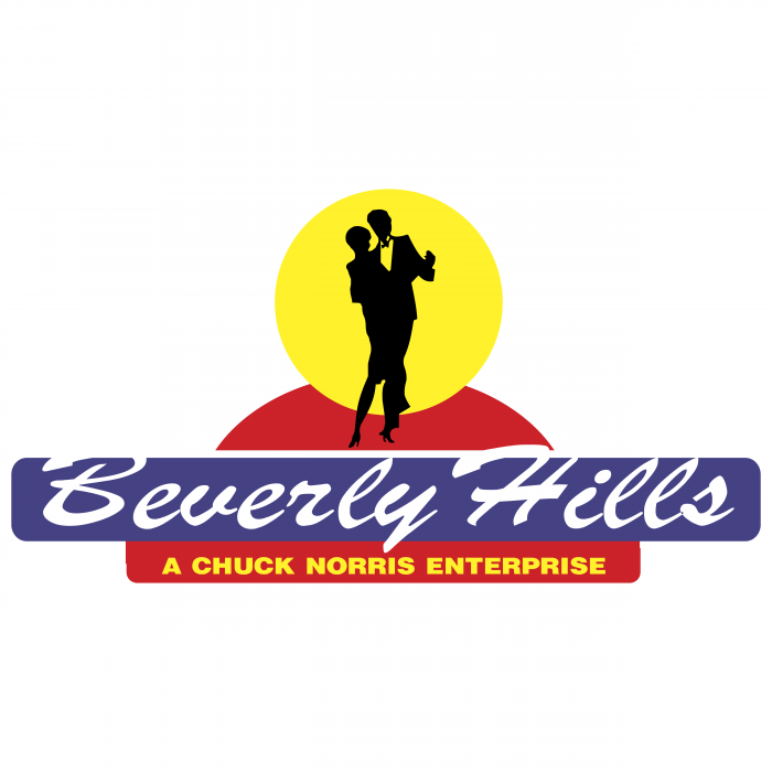 Beverly Hills logo red