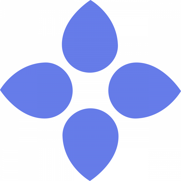 Bloom Token logo blue