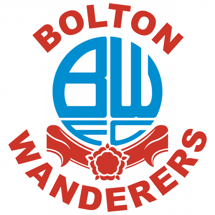 Bolton Wanderers FC logo red