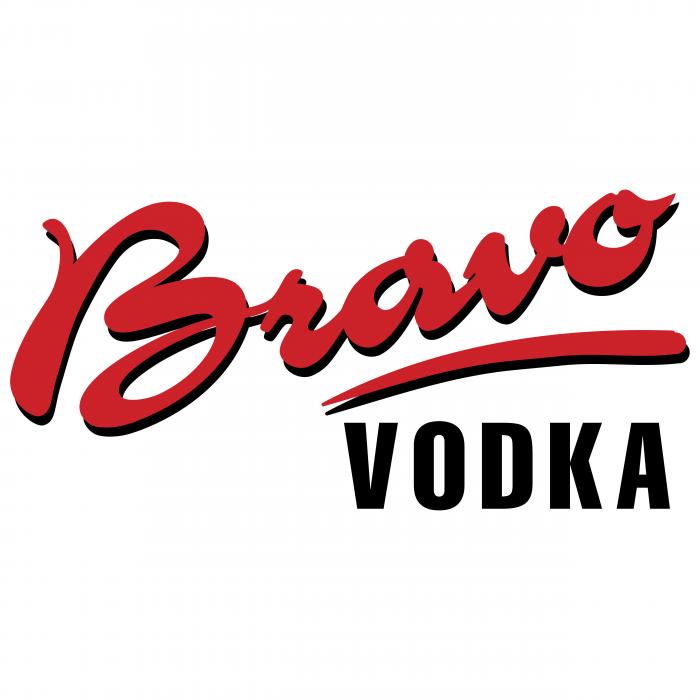 Bravo logo vodka