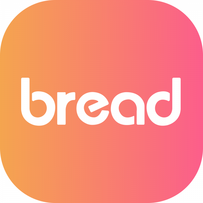 Bread Token logo pink