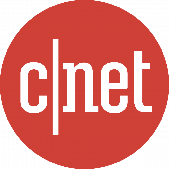 C net logo red