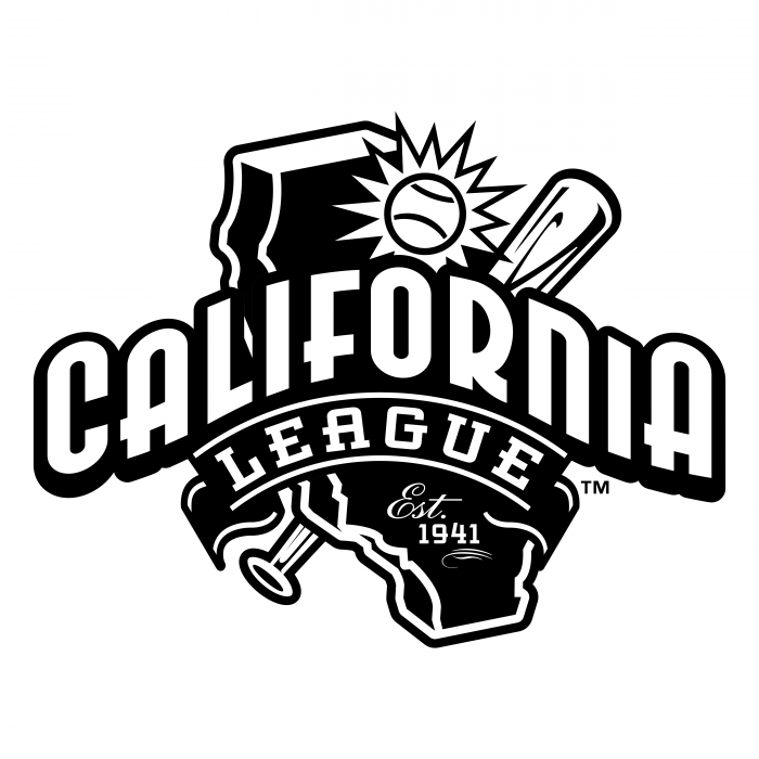 California League logo black