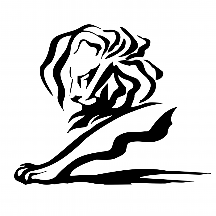 Cannes Lions logo black