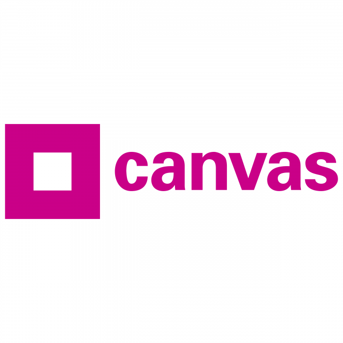 Canvas logo violet