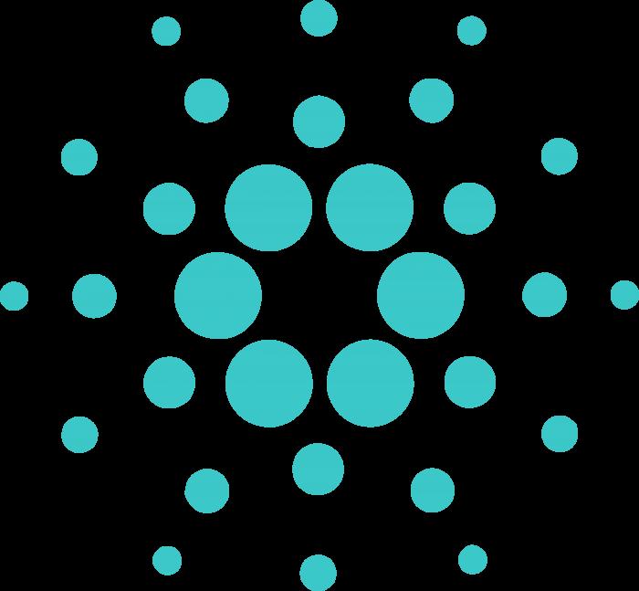Cardano logo coin