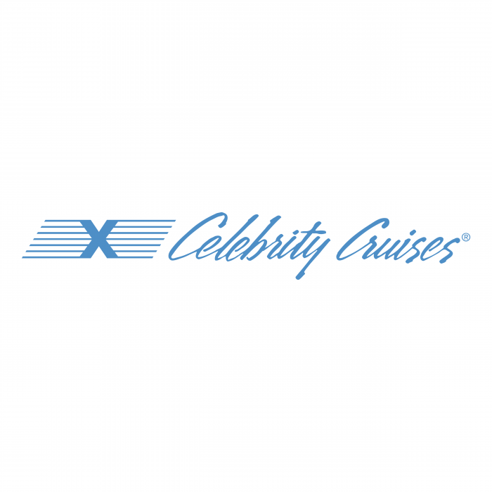 Celebrity Cruises logo blue