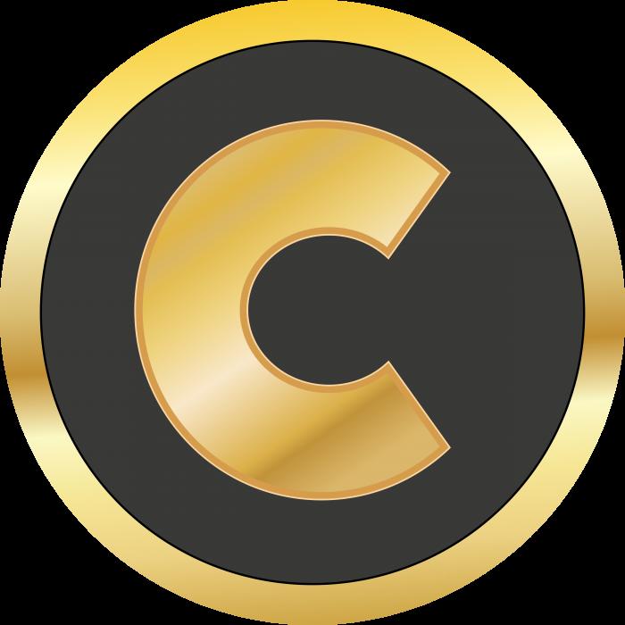 Centra logo gold