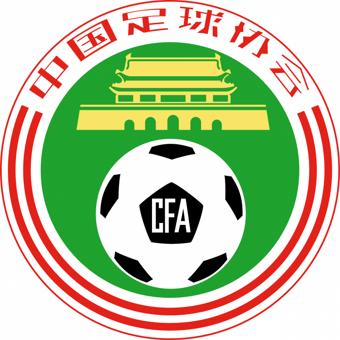 Chinese Football Association logo colour