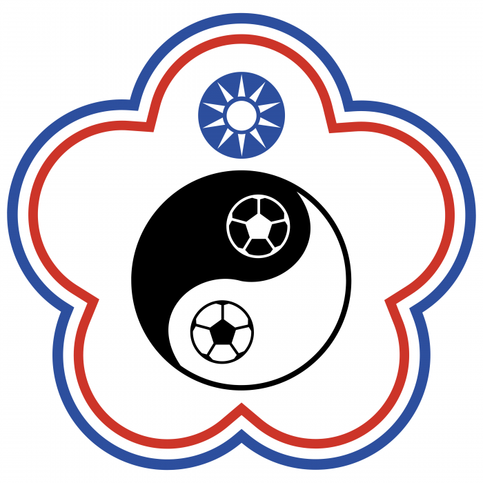 Chinese Taipei Football Association logo cercle
