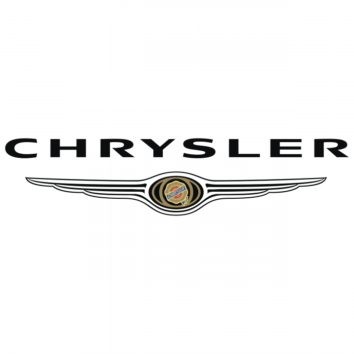 Chrysler logo black