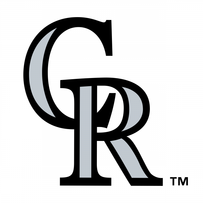Colorado Rockies logo cr