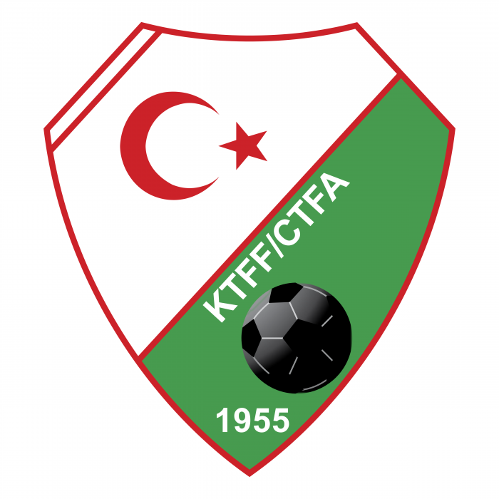 Cyprus Turkish Football Association logo 1955
