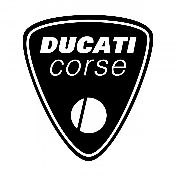 Ducati corsw logo white